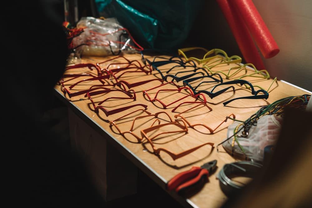 Chromat Fall Winter 2018 New York Fashion Week Runway Show Backstage Beauty Sunglasses