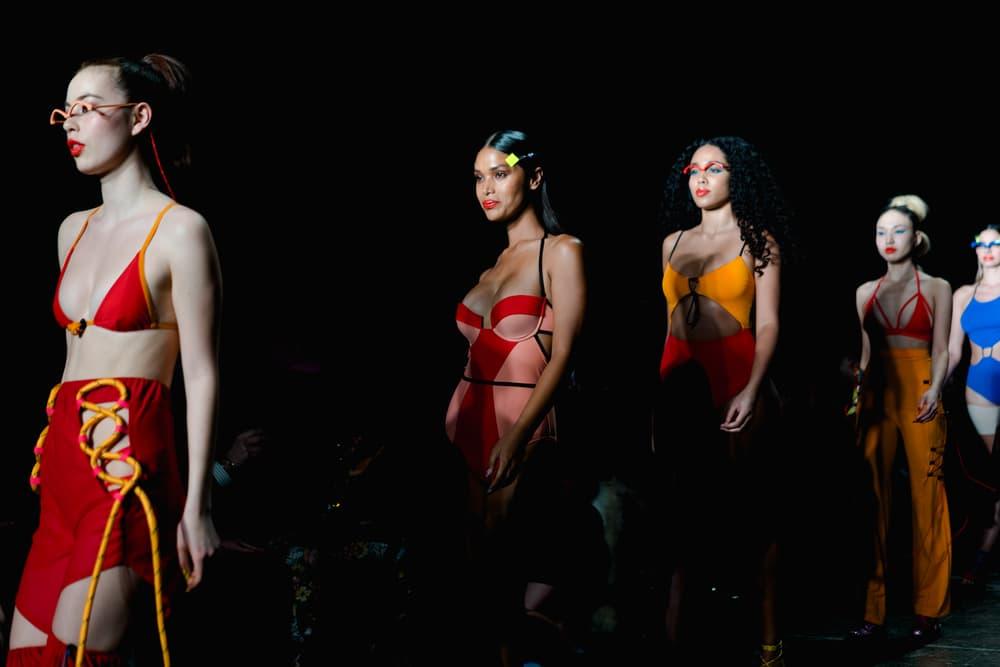 Chromat Fall Winter 2018 New York Fashion Week Runway Show Finale