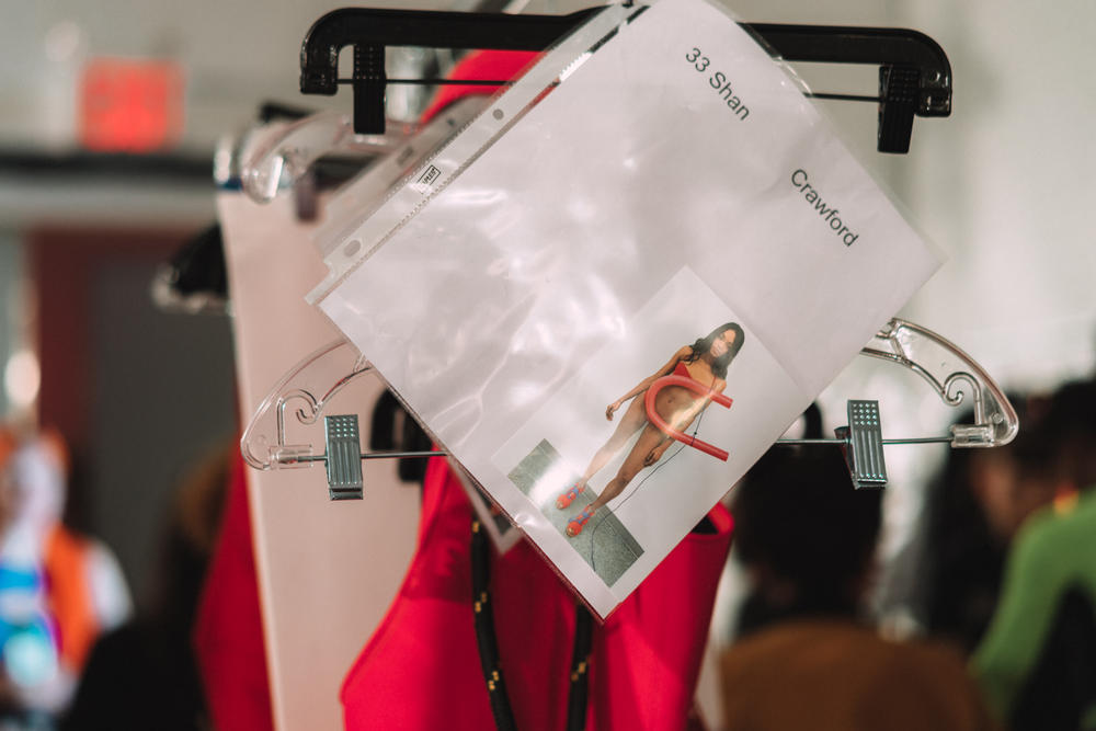 Chromat Fall Winter 2018 New York Fashion Week Runway Show Backstage Beauty