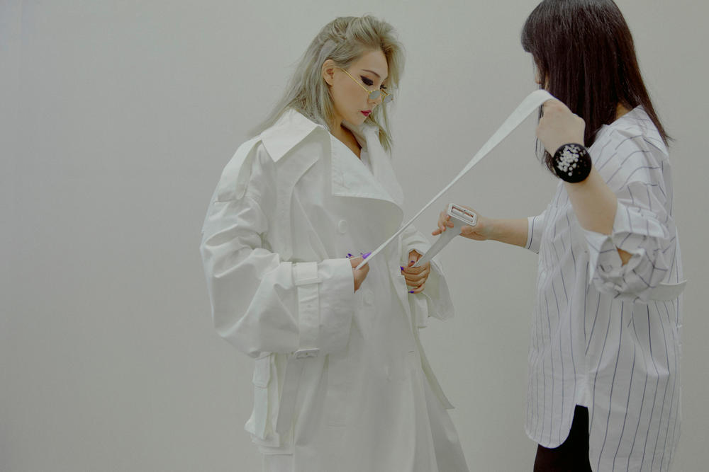 CL Juun J Pyeongchang Winter Olympics Performance Fitting White