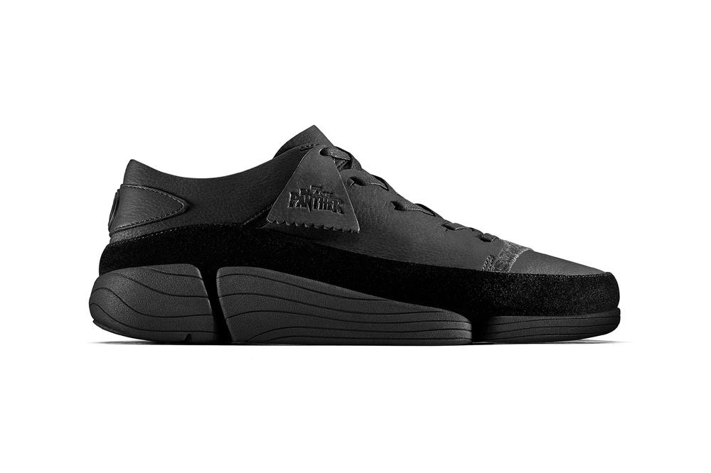 Clarks originals black panther trigenic evo sneaker womens