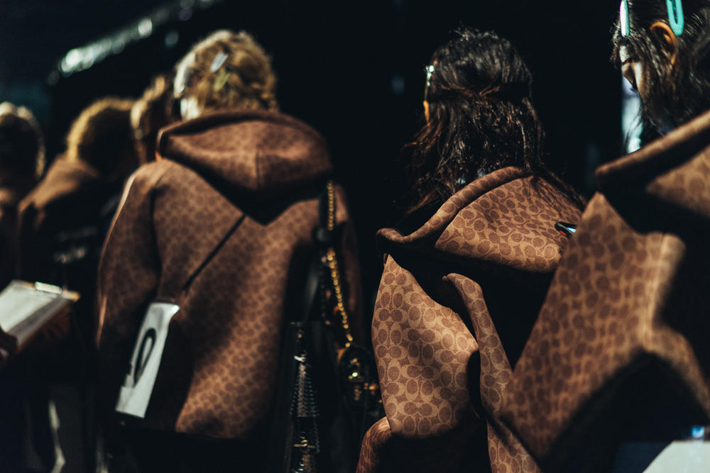 Coach 1941 New York Fashion Week Fall/Winter 2018 Backstage Behind The Scenes Runway Show Photography Fashion NYFW