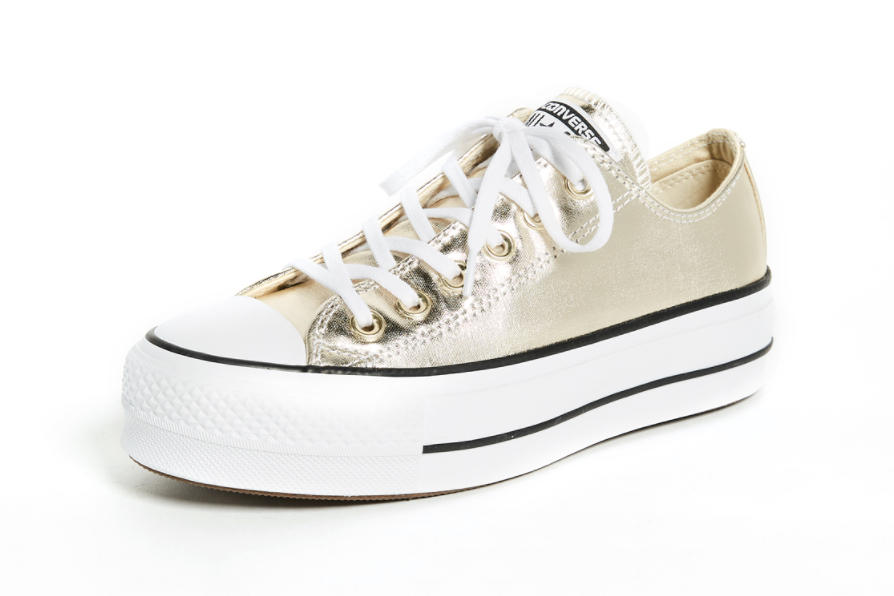 8c7571a1737dca Converse Releases All Star Lift Ox in Black Gold