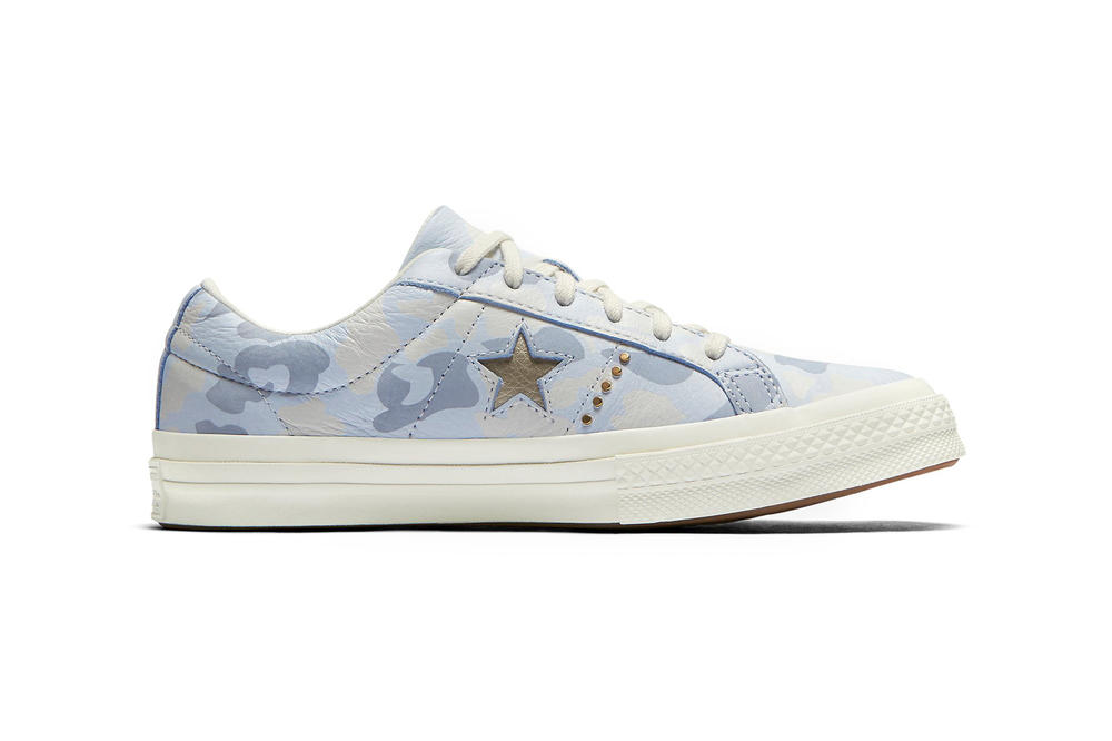 Converse One Star Camo Gold Blue