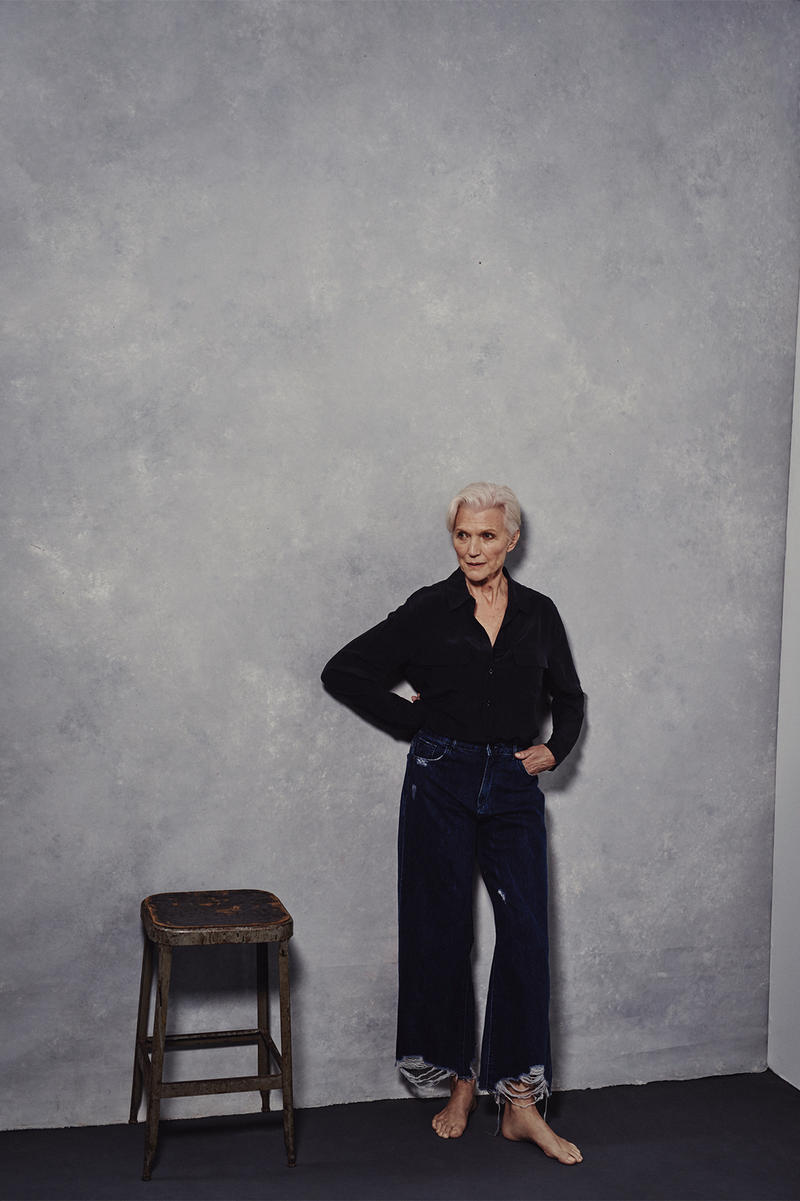 DL1961 ss18 Latest Campaign Emily Ratajkowski Maye Musk Lizzy Jagger Patricia Manfield