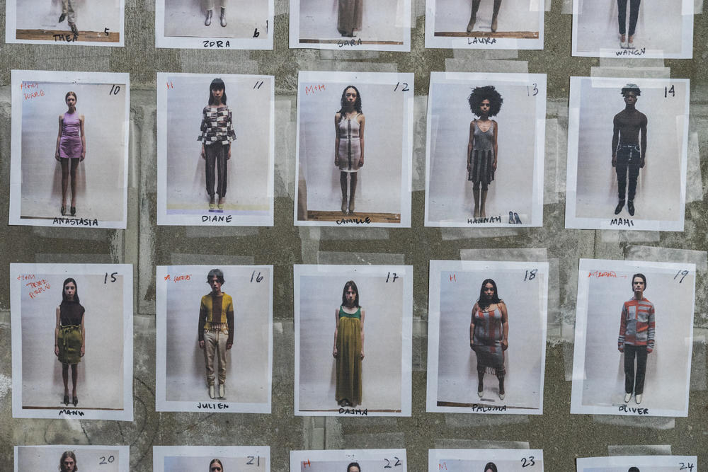 Eckhaus Latta NYFW new york fashion week fall winter FW18 2018 SOPHIE Paloma Elsesser gender inclusive neutral transgender model plus size runway