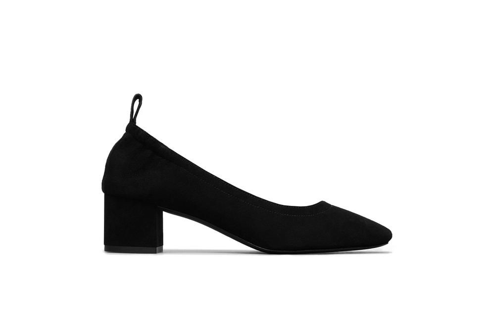 Everlane New Leather/Suede Women's Day Heels Patent Glossy Shine Red Black Pink White Mule