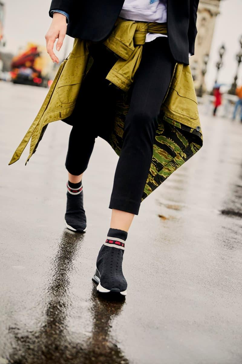 Farfetch New Season Sneaker Editorial Footwear Gucci Stella McCartney Off-White Nike Adidas Raf Simons Balenciaga Heron Preston