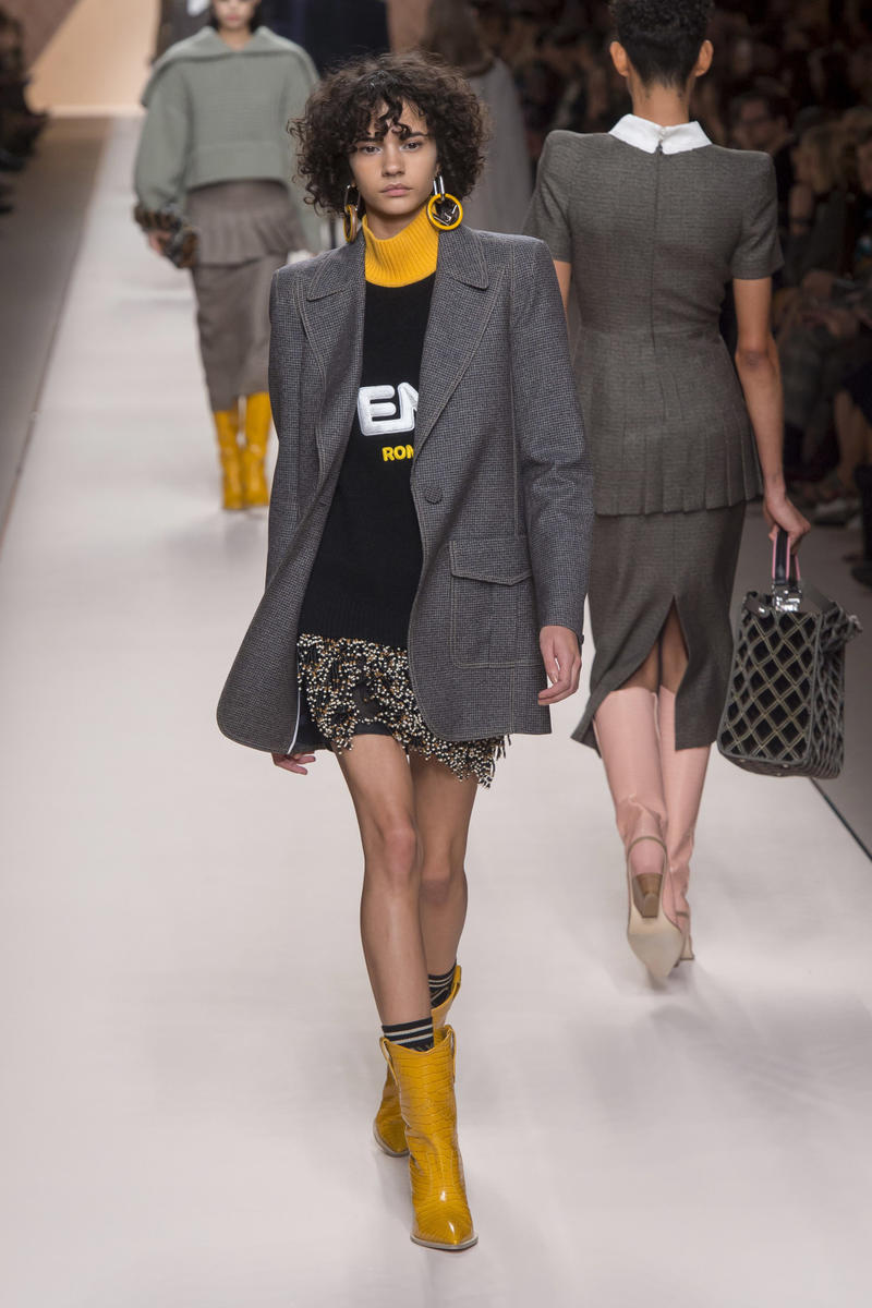 Fendi FILA Fall/Winter 2018 Milan Fashion Week Collaboration Artist Hey Reilly Karl Lagerfeld