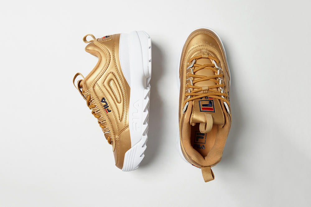 FILA Disruptor 2 Leather Gold
