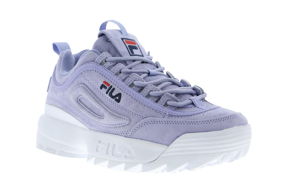 9ee6b74274c9 FILA ultra violet pantone 2018 disruptor 2 II sneaker sweet lavender pastel  purple chunky bulky 90s