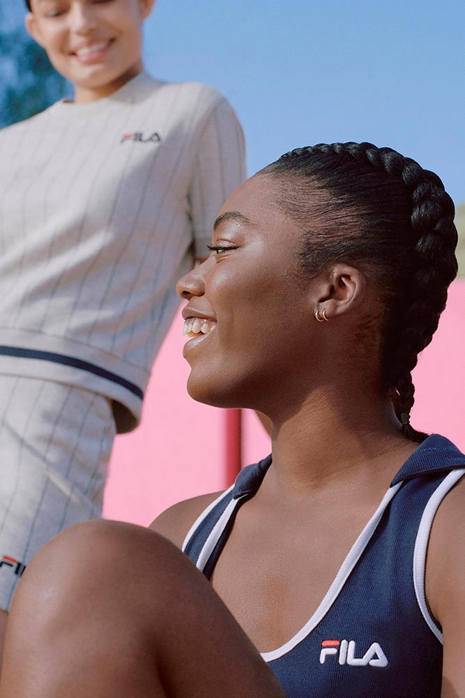 fila spring summer 2018 lookbook rugby bodysuits tracksuits swimwear