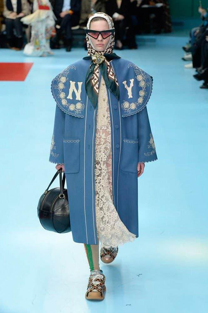 Gucci Fall Winter 2018 Milan Fashion Week Show Collection