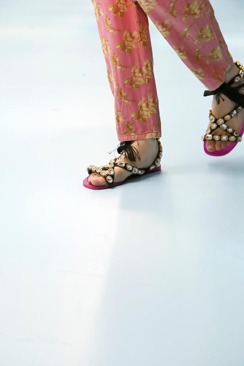 Gucci Sandal Fall Winter 2018 Milan Fashion Week
