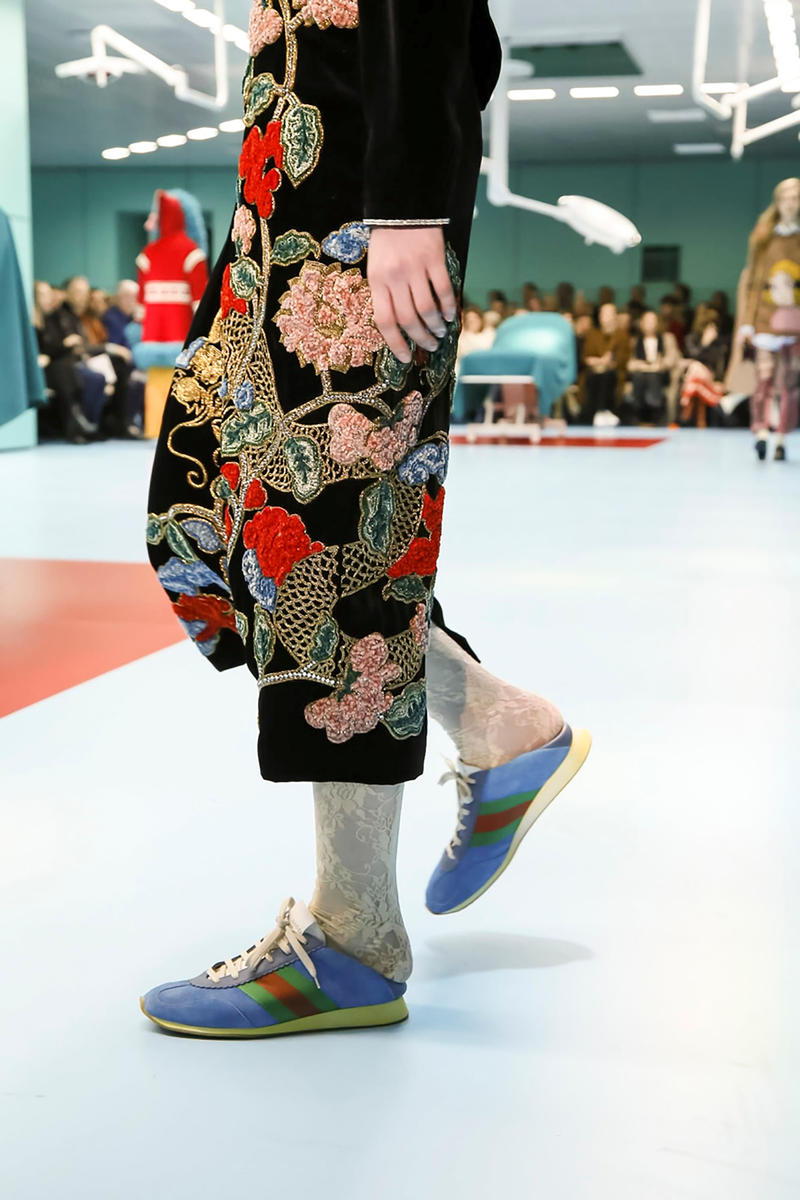 Gucci Sneaker Fall Winter 2018 Milan Fashion Week