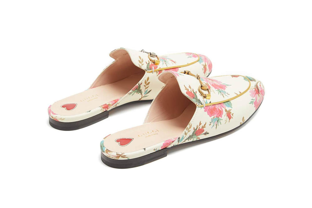 Gucci Floral Princetown Loafer