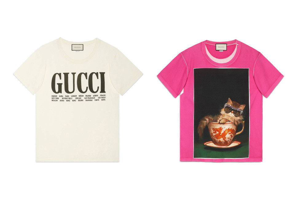 11613218 Gucci Logo T-Shirt Spring/Summer 2018 Restock   HYPEBAE
