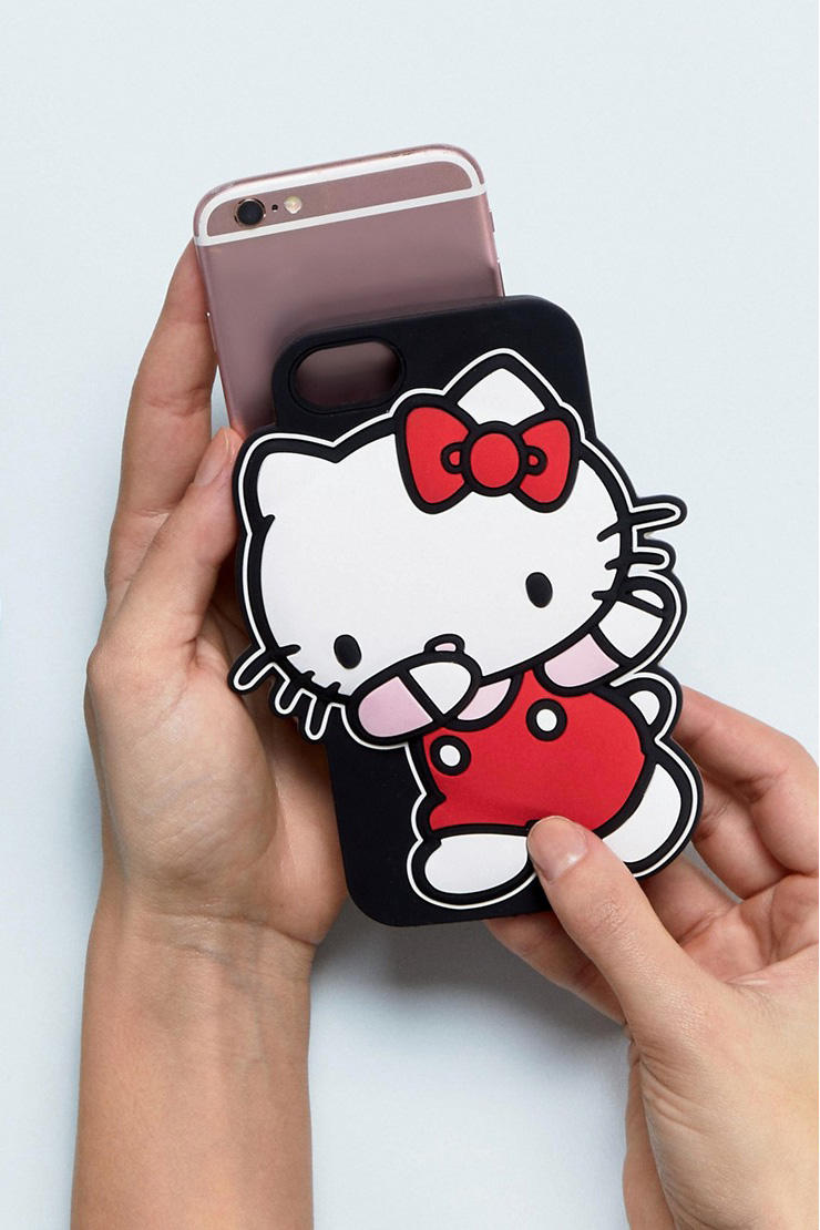 hello kitty asos sanrio collaboration plus size curve iphone case earrings pajamas t shirt sweater slippers bow