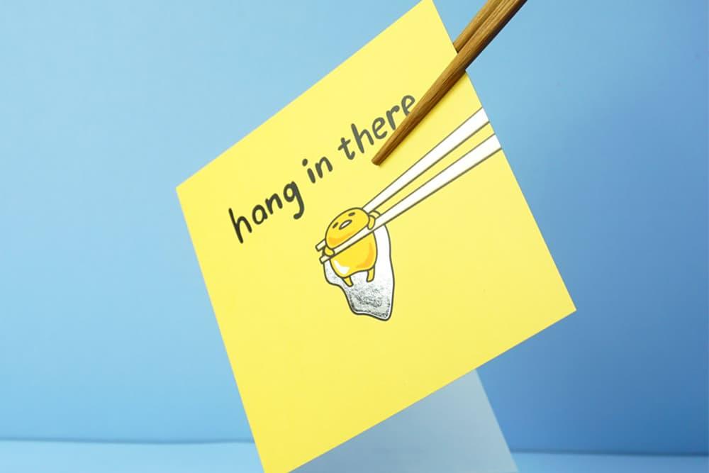 Sanrio jolly awesome greetings card birthday thanks friends hello kitty gudetama stationery calendar notebook kawaii