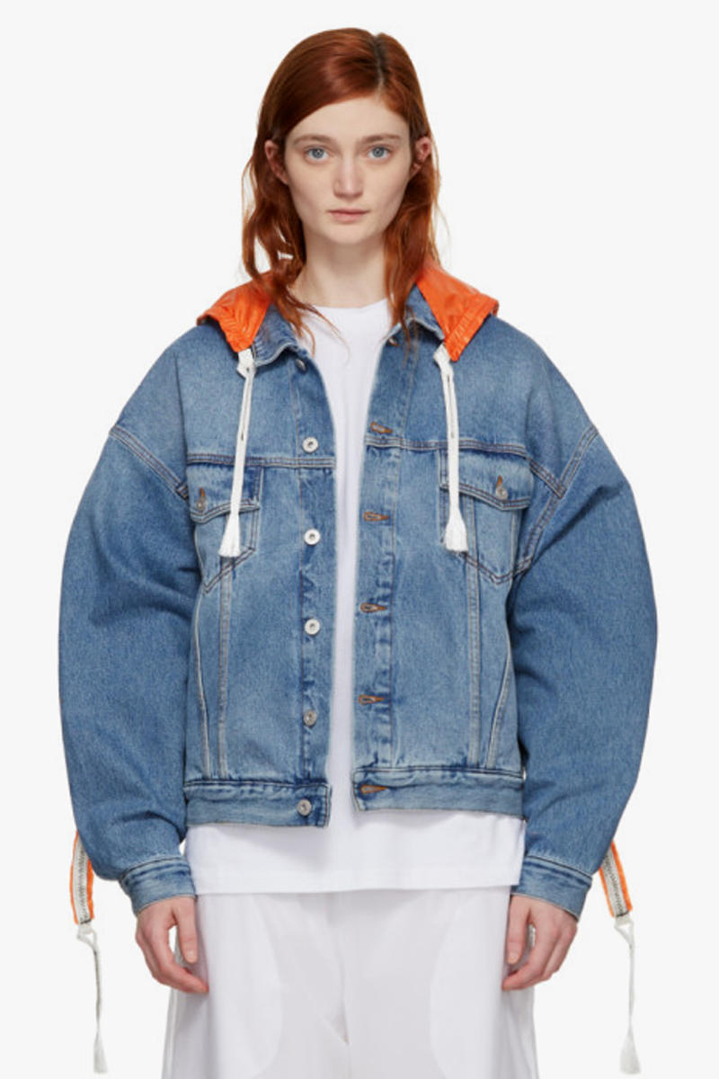 Heron Preston Parachute Denim Jacket