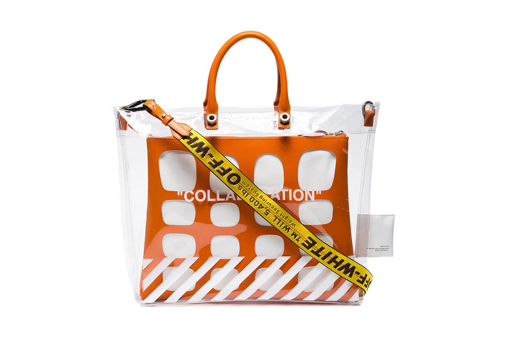 7093ca3c94a195 Heron Preston Off-White™ COLLABORATION off white virgil abloh handbag bags  orange pvc where