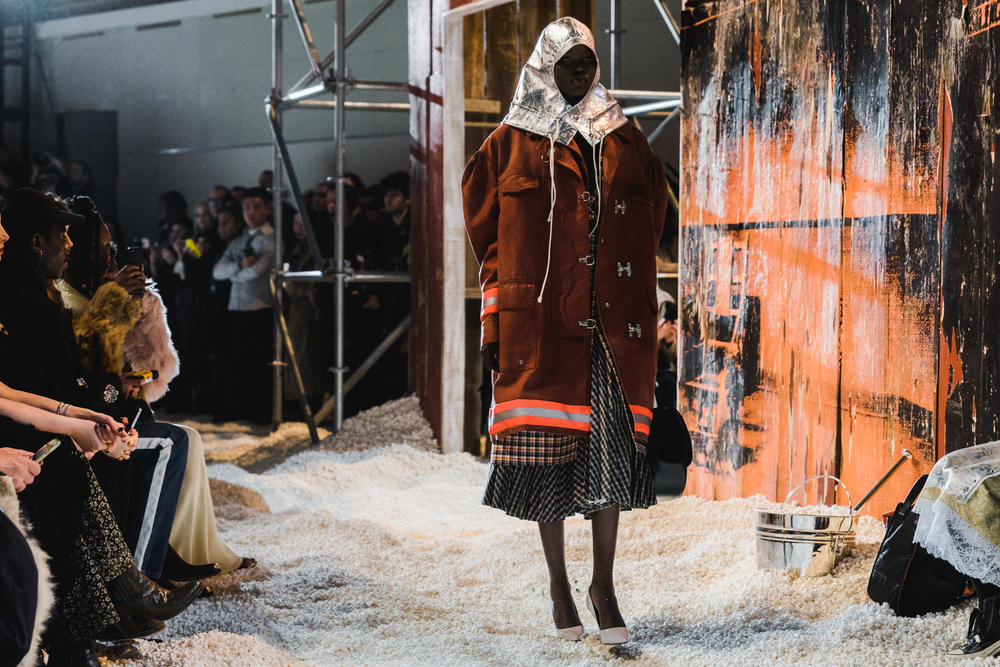 Raf Simons Calvin Klein Fall/Winter 2018 NYFW New York Fashion Week Runway Show Exclusive Images