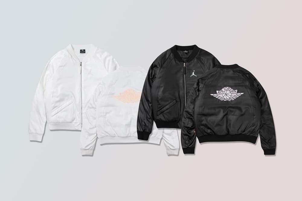 ff0d7bbbb8dc jordan brand wings ma-1 jacket black white blue pink bomber