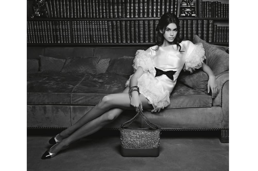 Kaia Gerber Chanel Spring Summer 2018 Handbag Campaign Karl Lagerfeld