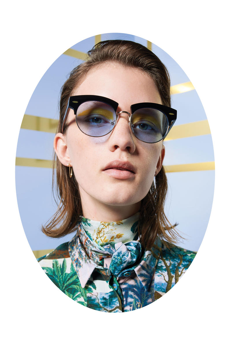 Karen Walker Lost In Paradise Collection Campaign The Constable Black Blue