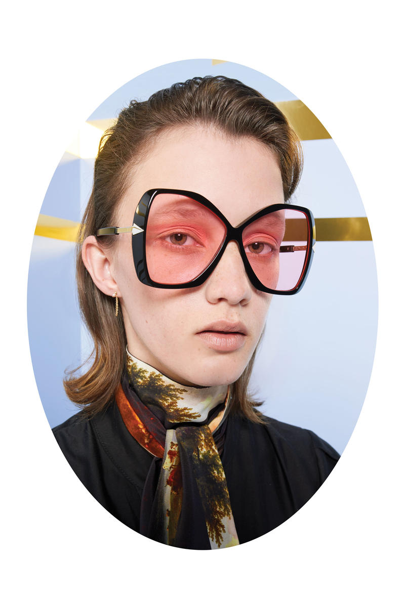 Karen Walker Lost In Paradise Collection Campaign Mary Black Pink