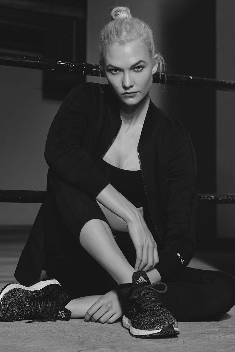 Karlie Kloss adidas Athletics Reigning Champ Spring Summer 2018 Collection Lookbook