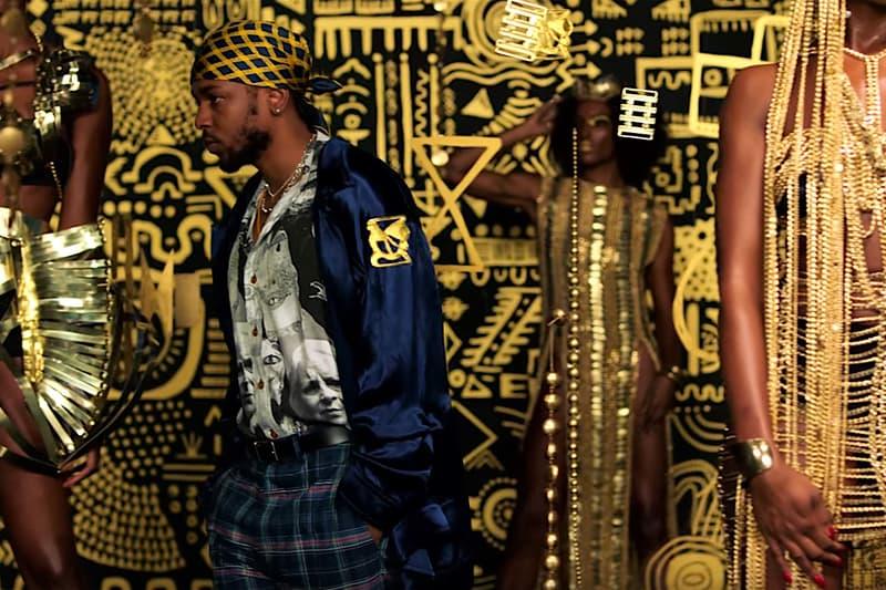 All the Stars Video Kendrick Lamar Artwork