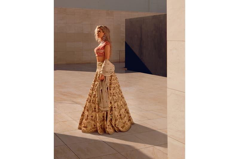 Kim Kardashian Vogue India March 2018 Magazine Cover Interview Instagram Empire Makeup KKW Beauty