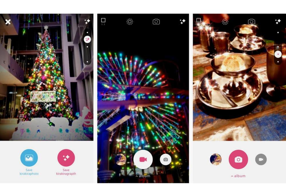 KiraKira+ Swarovski Sparkle Filter Free Download Fashion Week Collaboration App Store