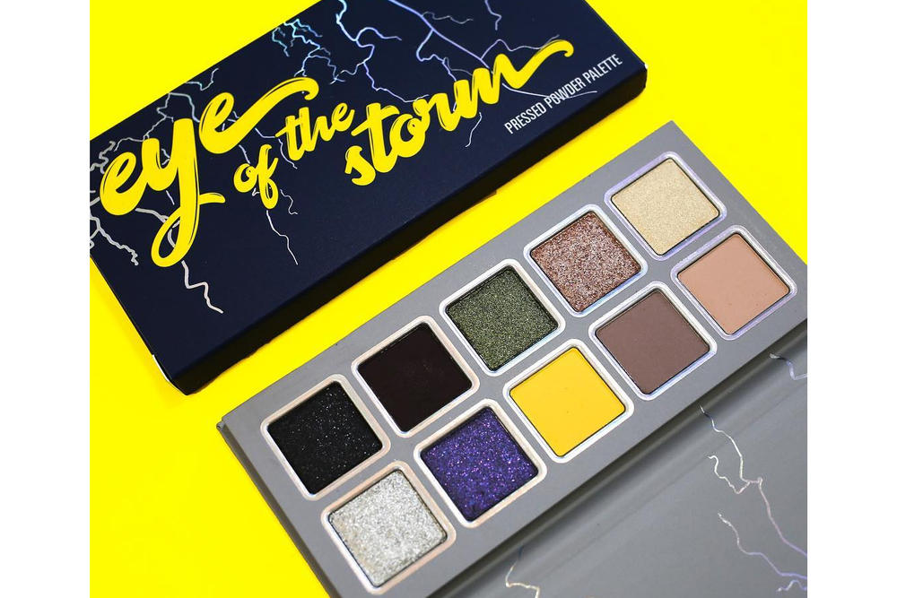 Kylie Jenner Kylie Cosmetics Weather Collection Stormi Makeup Eyeshadow Palette