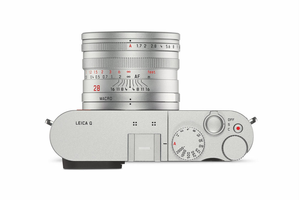 Leica Q Snow White Camera Leather