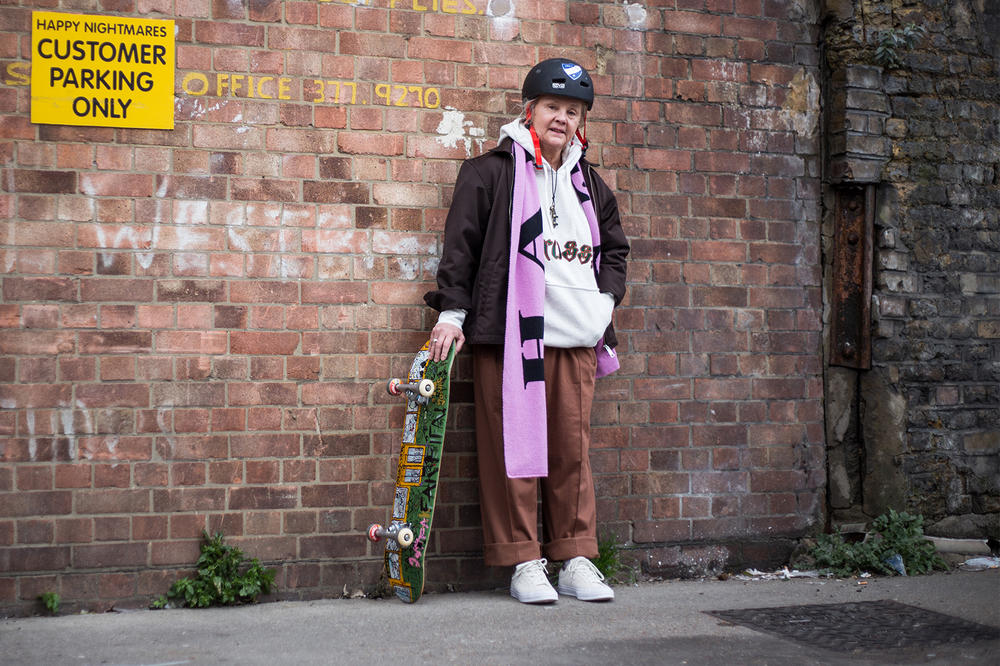 lena salmi very old skateboarders elderly skater skateboarder finland helsinki facebook group interview editorial
