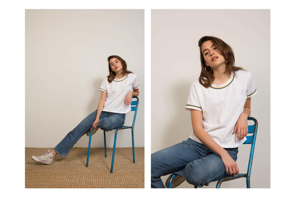 Liana Spring/Summer 2018 Collection Lookbook Tee White