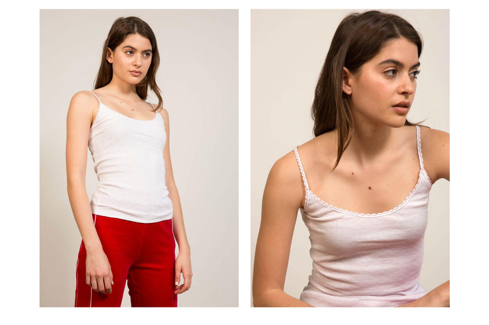 Liana Spring/Summer 2018 Collection Lookbook Tank White