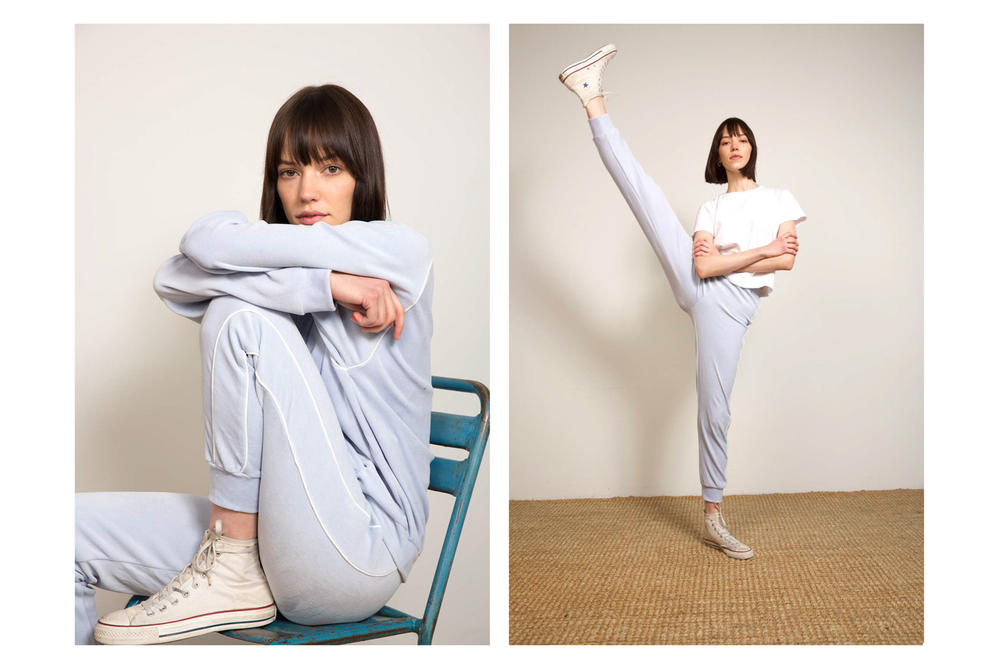 Liana Spring/Summer 2018 Collection Lookbook Tracksuit Blue