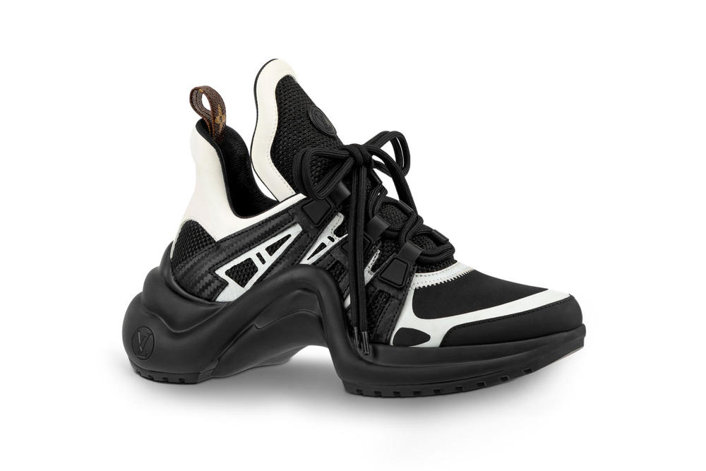Louis Vuitton Archlight Sneaker Chunky Monogram Black