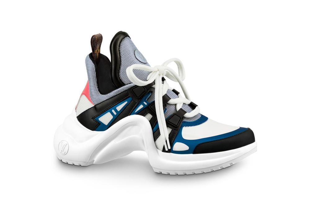 Louis Vuitton Archlight Sneaker Chunky Monogram White Black Blue Red