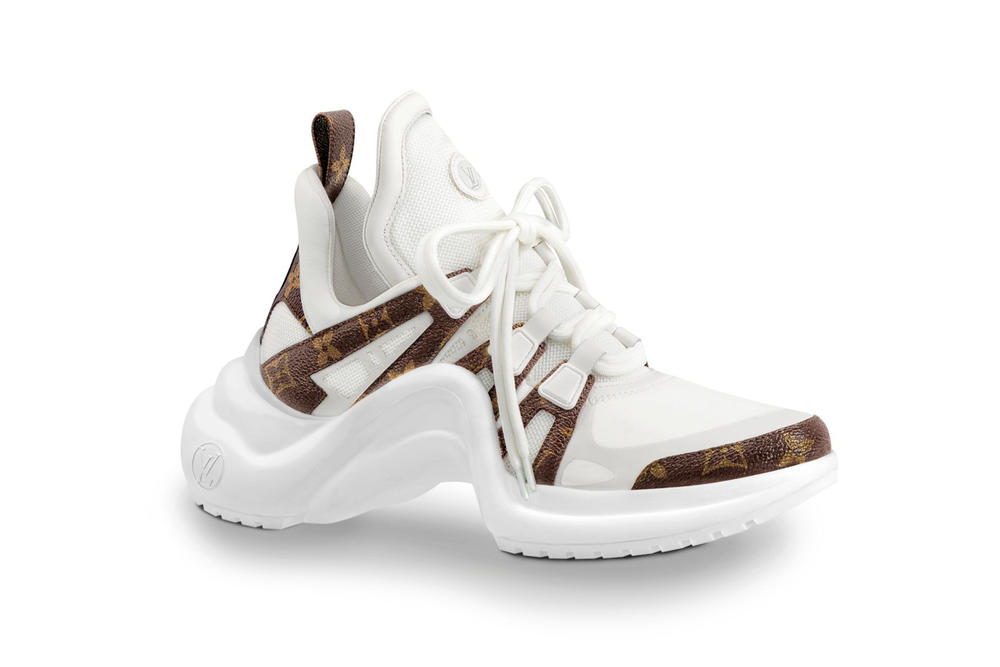 Louis Vuitton Archlight Sneaker Chunky Monogram White