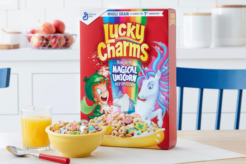 Lucky Charms Unicorn Marshmallow Cereal