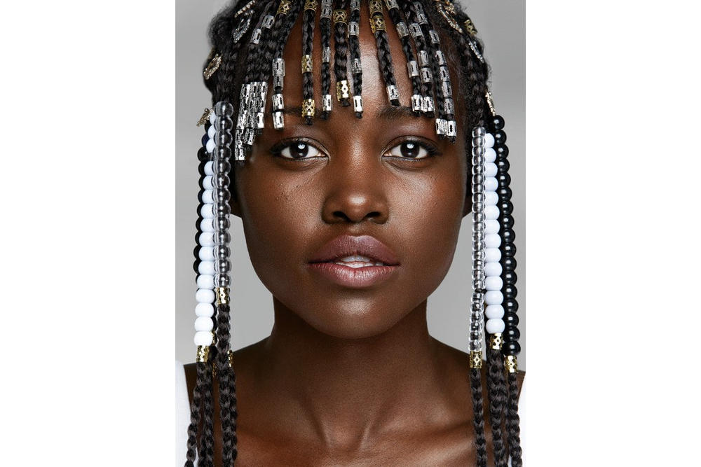 Lupita Nyong'o Black Panther Allure Interview Hair Black Culture Confidence Childhood