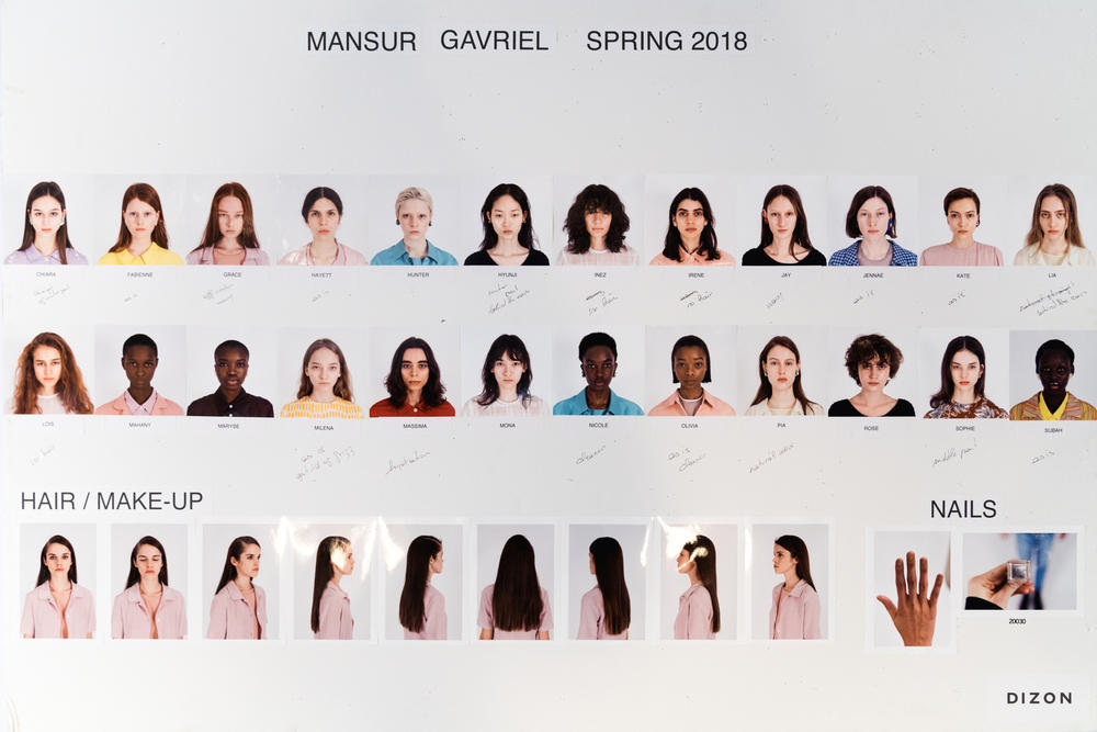 Mansur Gavriel Fall/Winter 2018 NYFW Backstage Exclusive Runway Show Bag Collection Minimal