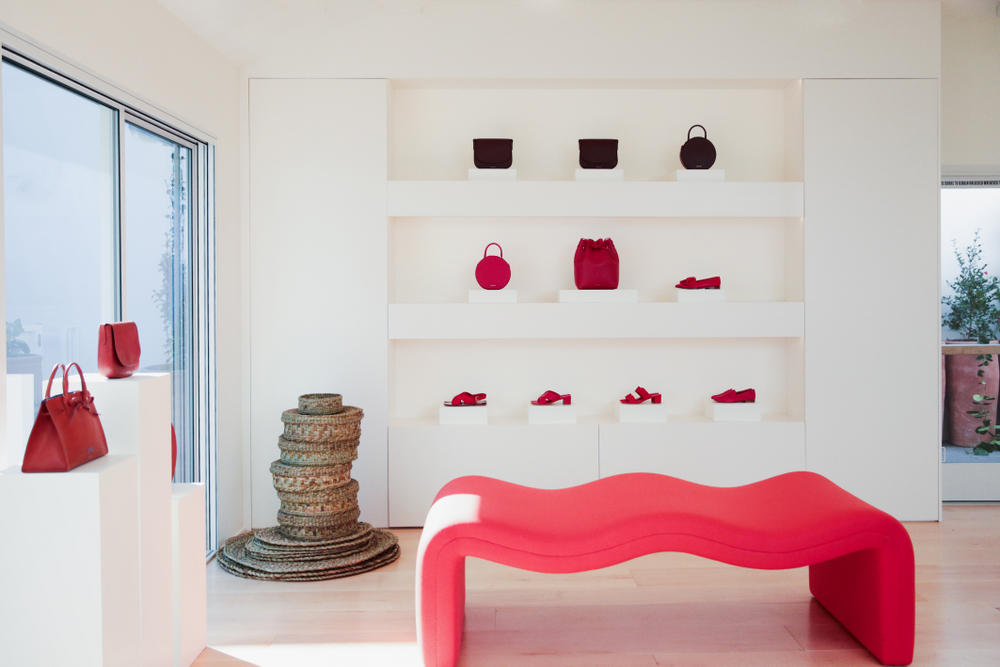 Mansur Gavriel Los Angeles Store Opening Cafe Flora Bags Fashion Retail Location