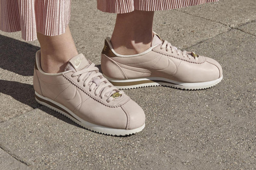 d01cdcff5ca Nike s New LA Cortez Is Luxe in the Cleanest Pink Ever