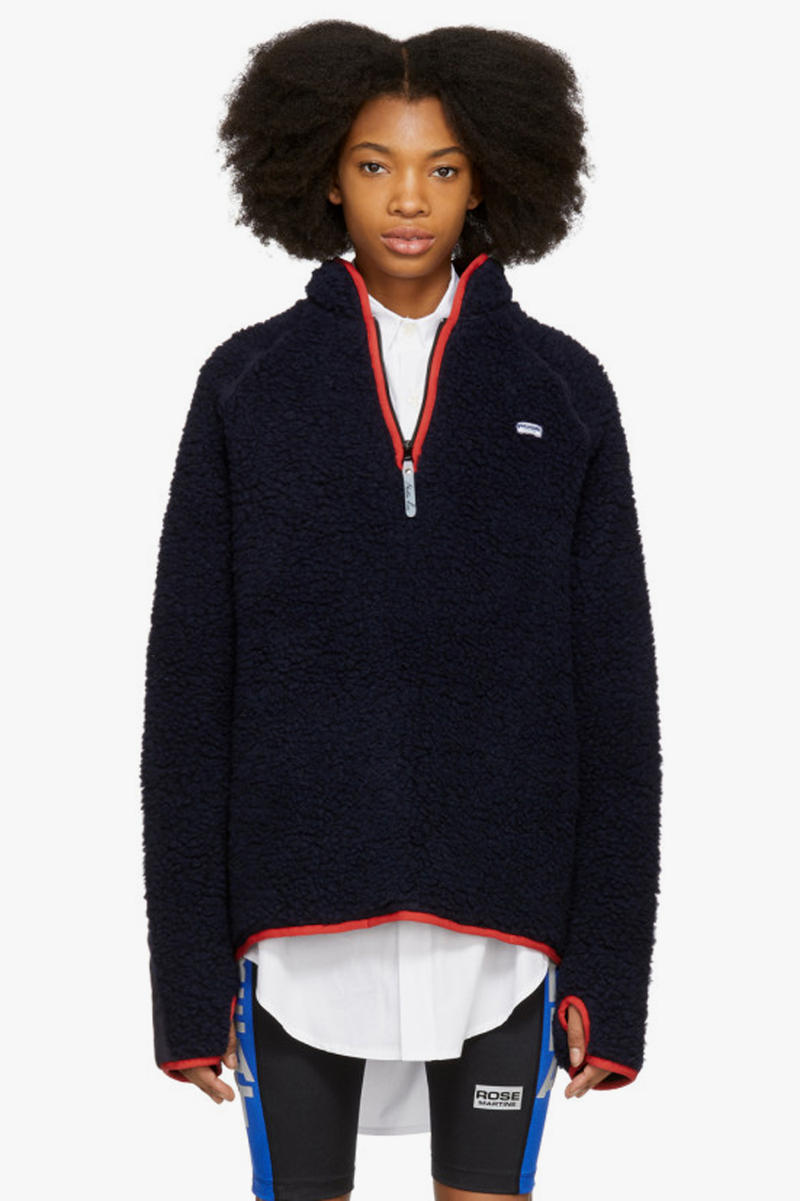 Martine Rose Fleece Track Sweater