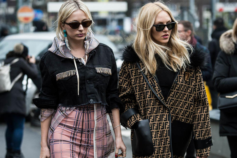 Milan Fashion Week 2018 Streetsnaps Women Fendi